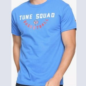Box Lunch Tune Squad T Shirt Blue Space Jam